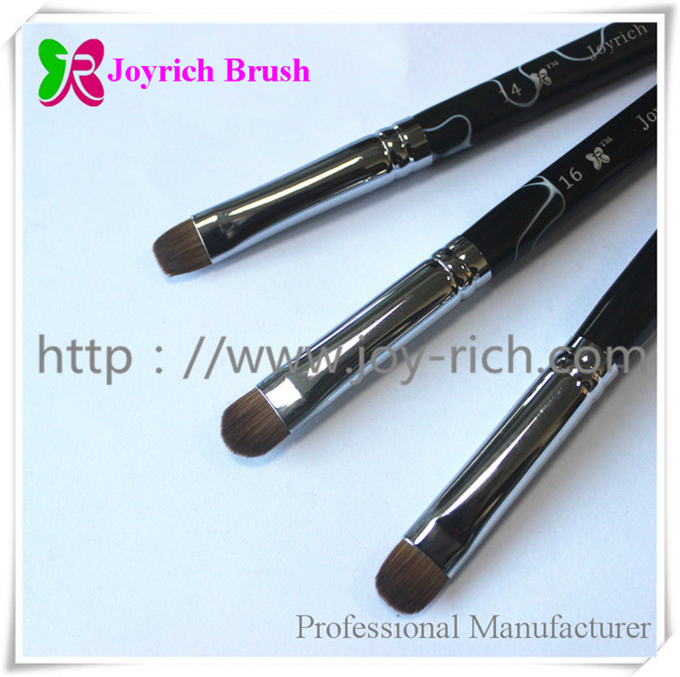 French nail brush-black marble-1